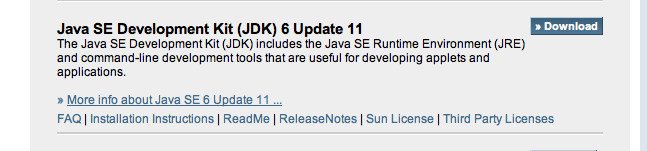 23/02/2013 · Java 6 Update 41. Java 6 Update 41 and Java 7 Update 15  available. It's funny that 6.41 even exists. They've said on the download.