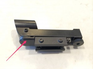 Celestron NexStar 4SE Star Pointer Battery Compartment