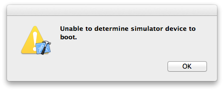 Unable to determine simulator device to boot  – diego org